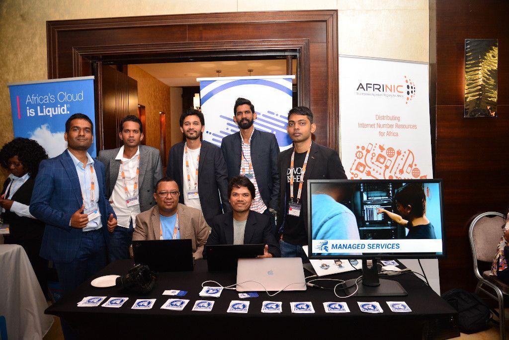 La Sentinelle & LSL Digital teams at AfPIF.